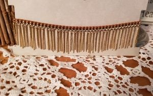 Treasure & Bond Nordstrom Choker w gold tassels